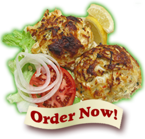 Box Hill Pizzeria Crab Cakes